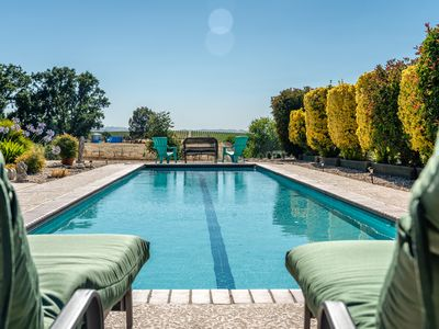 Photo for Pool, Vineyard Views, and Privacy Add Up to Your Paso Robles Perfect Stay!