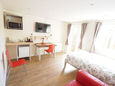 Photo for DS1 Lovely Ground floor studio with Bathroom Sleeps 2/3 people