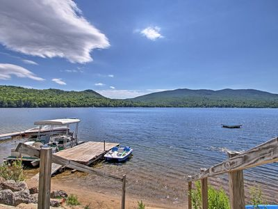 Photo for NEW! Lake Stinson Cottage w/Sunroom & Shared Dock!
