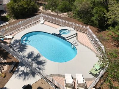 Photo for 4 BR with Pool - Gulf Views, short walk to beach!