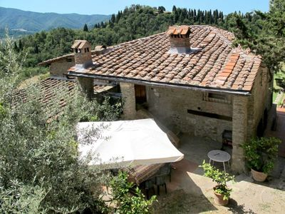 Photo for Apartment Villa Fabbroni (SPC165) in San Polo in Chianti - 8 persons, 4 bedrooms