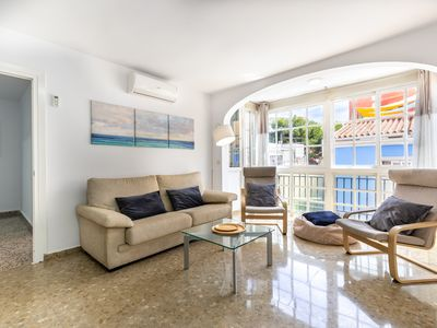 Photo for Modern Apartment Picasso in Central Location with Wi-Fi, Balcony & Terrace