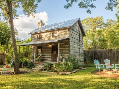 Photo for 'Cactus Flower' Cabin w/Fire Pit in Fredericksburg