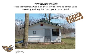 Photo for Riverfront Cabin with Fishing Dock