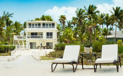Photo for OCEANFRONT! 5 Bed Combo, Genuine Grace Bay Location