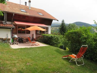 Photo for *** Chalet for 8 people, Munster Valley, Alsace, Vosges Mountains