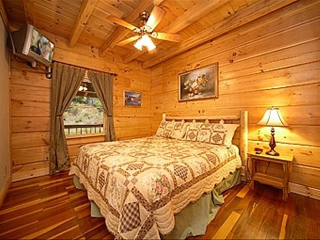 Owner operated log cabin perfect for couples small for Perfect cabin