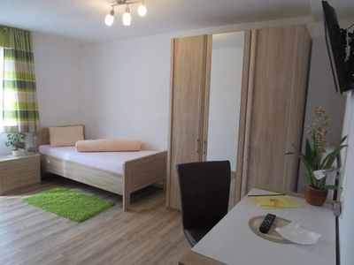 Photo for Single room, shower, toilet, ground floor / first floor - Gasthof-Pension Waldfriede