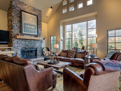 Photo for NEW WINTER LISTING. LUXURY SKI IN/SKI-OUT CABIN. MOONLIGHT BASIN ACCESS.