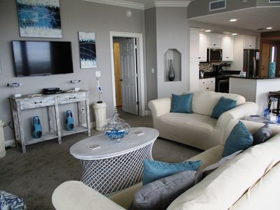 Photo for Gulffront 3 Bedroom; Newly Renovated; Beach Service; Flat Screen TVs;