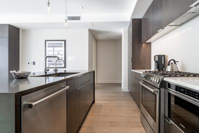 Kitchen - Chefs will love the beautifully equipped gourmet kitchen.