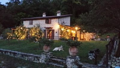 Photo for Charming stone farmhouse in the countryside of Rome in Sabina