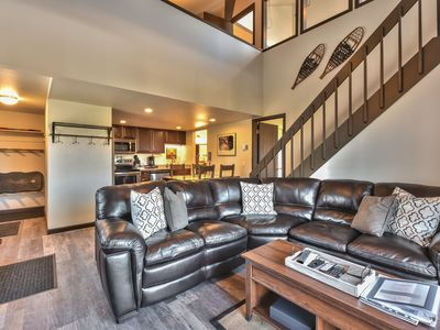 Photo for Park City, Canyons NEW! 2/2 Loft Condo Near lift Across from clubhouse