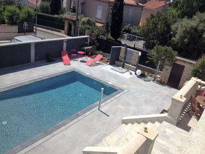 Photo for LARGE CHARMING VILLA 300 M FROM THE BEACH