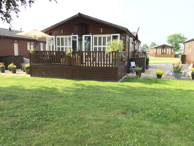 Photo for Riverside Lodge on Premium Site with Clubhouse