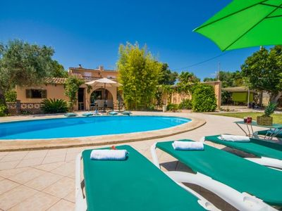 Photo for Alcudia Holiday Home, Sleeps 6 with Pool, Air Con and WiFi