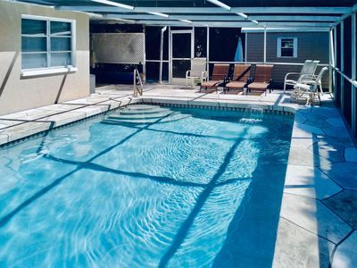 Caspersen Beach -HEATED POOL! Access to the Private Beach. Have fun and relax!