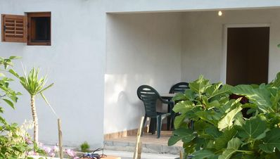 Photo for Two bedroom apartment with terrace Nin (Zadar)