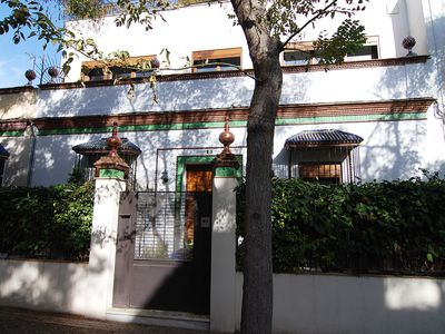Photo for Casa Las Viñas - Lovely townhouse with pretty roof garden in the centre of Jerez