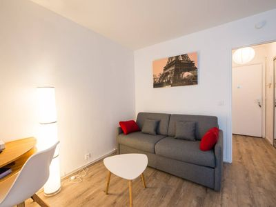 Photo for Beautiful studio with balcony Parc des Expositions