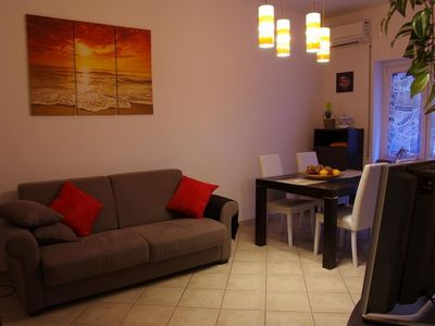 Photo for Apartment in Rome with Internet, Air conditioning, Lift, Terrace (748803)