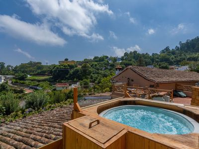 Photo for Holiday cottage with shared pool in Valleseco