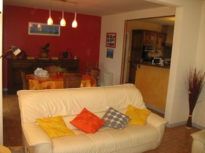 Photo for Quiet house 1km from the Gulf of Morbihan near amenities