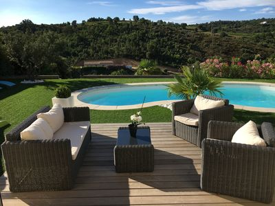 Photo for Villa 8 people quiet in the Golf of Saint Tropez