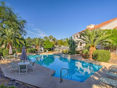 Photo for Scottsdale Condo w/Pool Near Shops, Hiking & Golf!