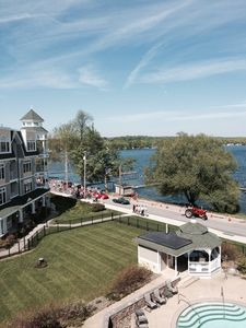 Photo for New Bemus Point Condo. Walk To Activities In The Village