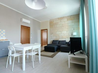 Photo for Salve Central 1 apartment in Salve with integrated air conditioning, shared terrace & balcony.