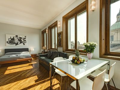 Photo for Panoramic apartment equipped with every comfort 2 minutes from the Duomo