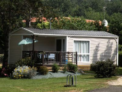 Photo for Camping les Rives du lac **** - Leisure Comfort Loggia 3 Rooms 4/5 People