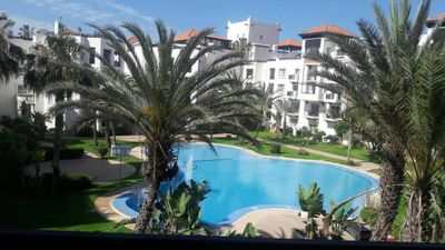 Photo for apartment Marina Agadir pool view