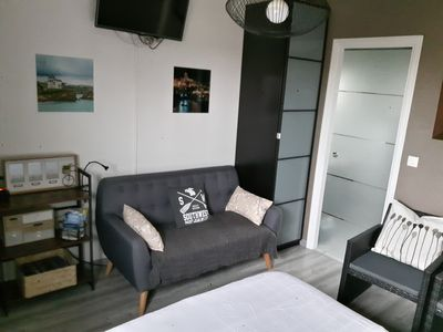 Photo for Rental in Guéthary in the Basque Country for 2 people, linen included