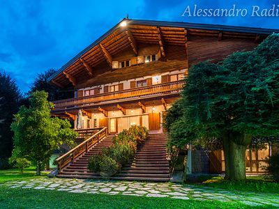 Photo for Villa Meridiana Luxury Chalet with park and swimming pool