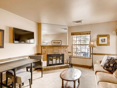 Photo for Condo near Main Street & Park City Mountain Resort w/ wood fireplace!