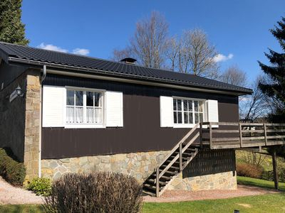 Photo for A well cared chalet situated at less than 10 kilometers from Malmedy, loads of activities possible