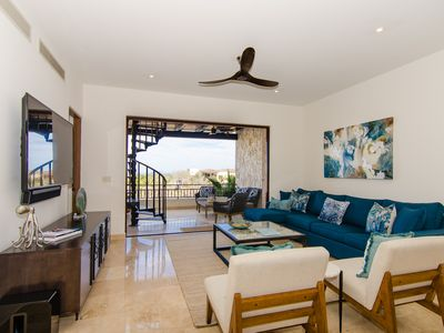 Photo for Palmilla Penthouse! Ocean Views! 6 Seat Golf Cart! Private Club!