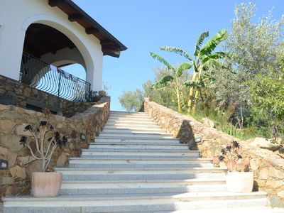 Photo for Relax between sea and mountains - panoramic villa