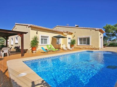 Photo for Villa 769 m from the center of Calp with Pool, Parking, Terrace, Garden (20151)