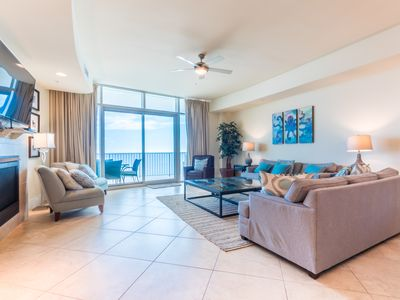 Photo for Gulf Front Condo at Turquoise Place! Exquisite!
