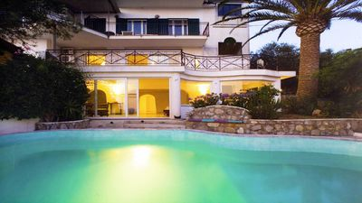 Photo for Villa Carlotta-Magnificent Sorrento Coast villa with private pool and ocean view