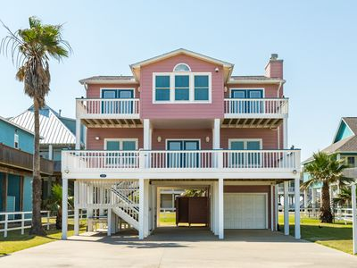 Photo for Expansive home w/incredible ocean views w/ the ultimate Crystal Beach location!