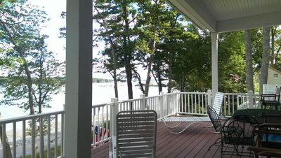 Photo for New Well Built Elegant Home on the Water 2 miles to Freeport, 9  to Portland!