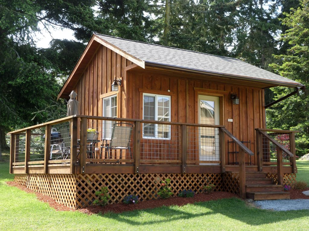 Central Whidbey Island Unique 200 Sq Ft Cab Vrbo