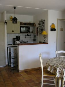 bar et kitchenette