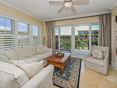 Photo for Adagio G-301 Poolside, Corner Condo with less than a 2 minute walk to beach!