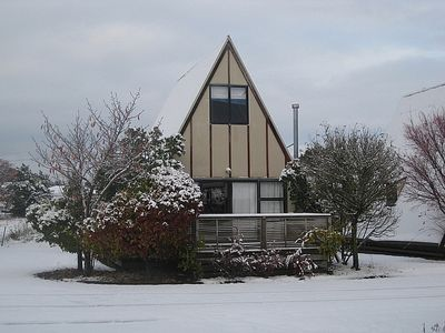 Photo for Goldfinch A Frame - Ohakune Chalet
