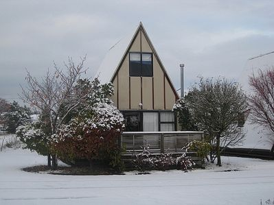 Goldfinch A-Frame - Ohakune Chalet